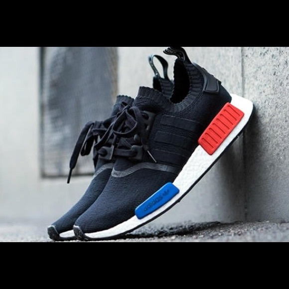 3a229e9ae NMD R1 PK Black White Blue Red OG 2017 release